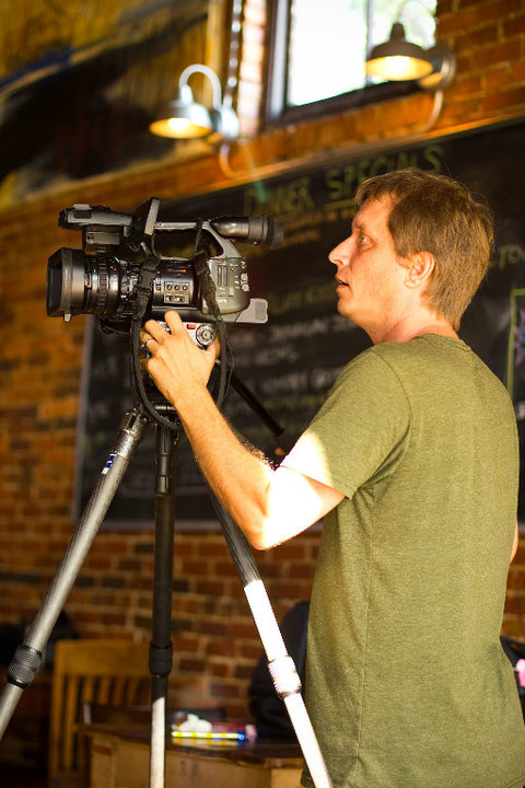Jasper's new film editor Wade Sellers