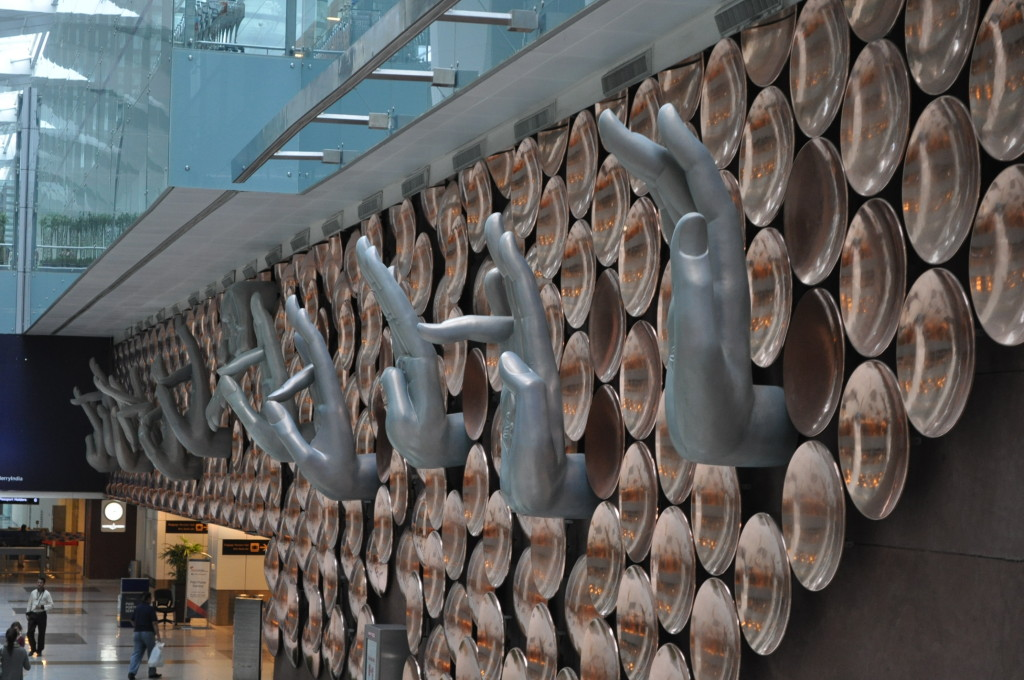 Art at Delhi Ariport