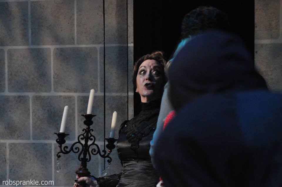 "Elena Martinez as Frau Blucher (""Nee-e-e-e-igh!"") - photo by Rob Sprankle"