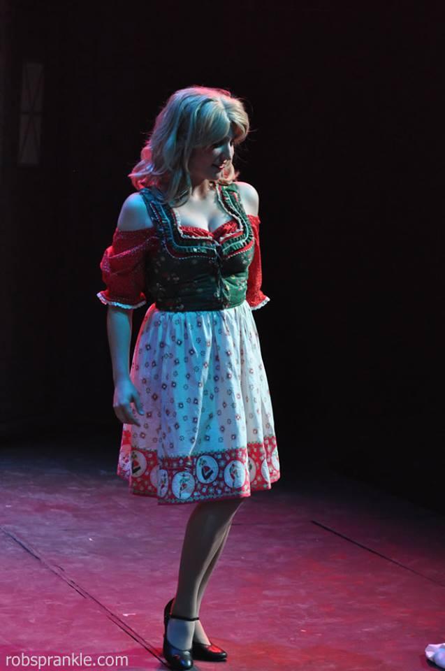 Courtney Selwyn as Inga - photo by Rob Sprankle