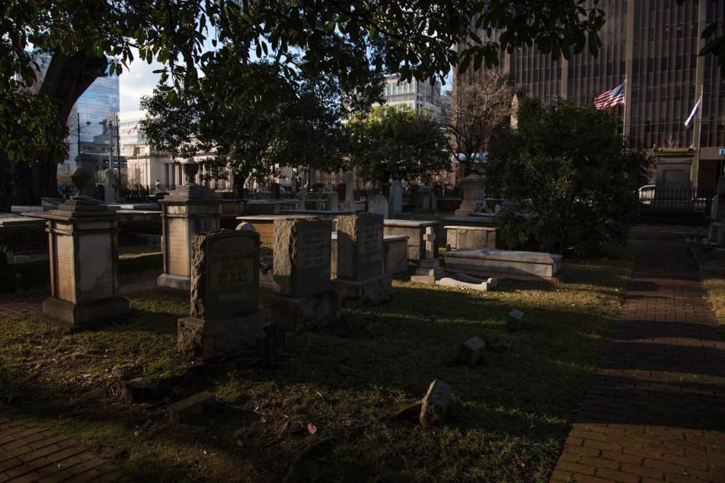 Cemetery by Thomas Hammond