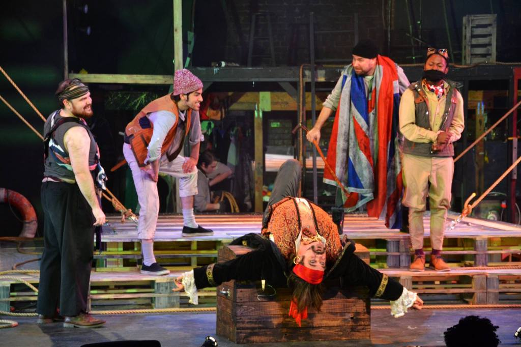 """""""The standout performance of the night is given by Paul Kaufmann as Black Stache the Pirate. """""""