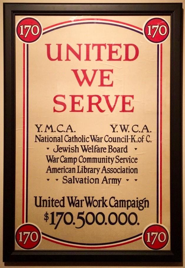 Photo: United We Serve, Anonymous, 1918, Chromolithograph