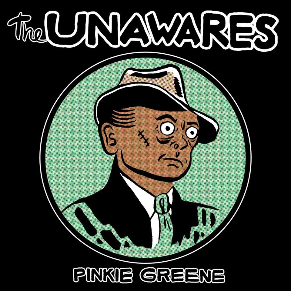 Album cover for The Unawares created by Bishop.