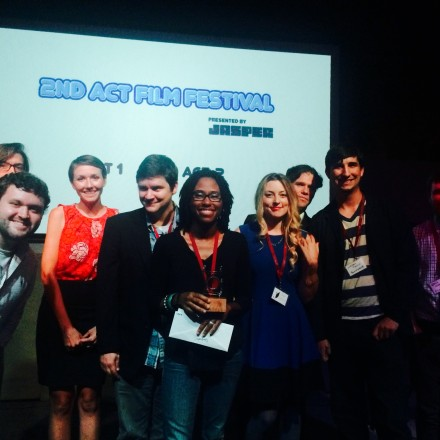 2nd Act Filmmakers 2015 - Tamara Finkbeiner center